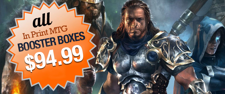 All in print Magic the Gathering Booster Boxes just $84.99, in store only