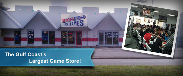 The Gulf Coast's Largest Game Store