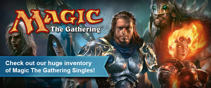 Check out our huge inventory of Magic The Gathering Singles