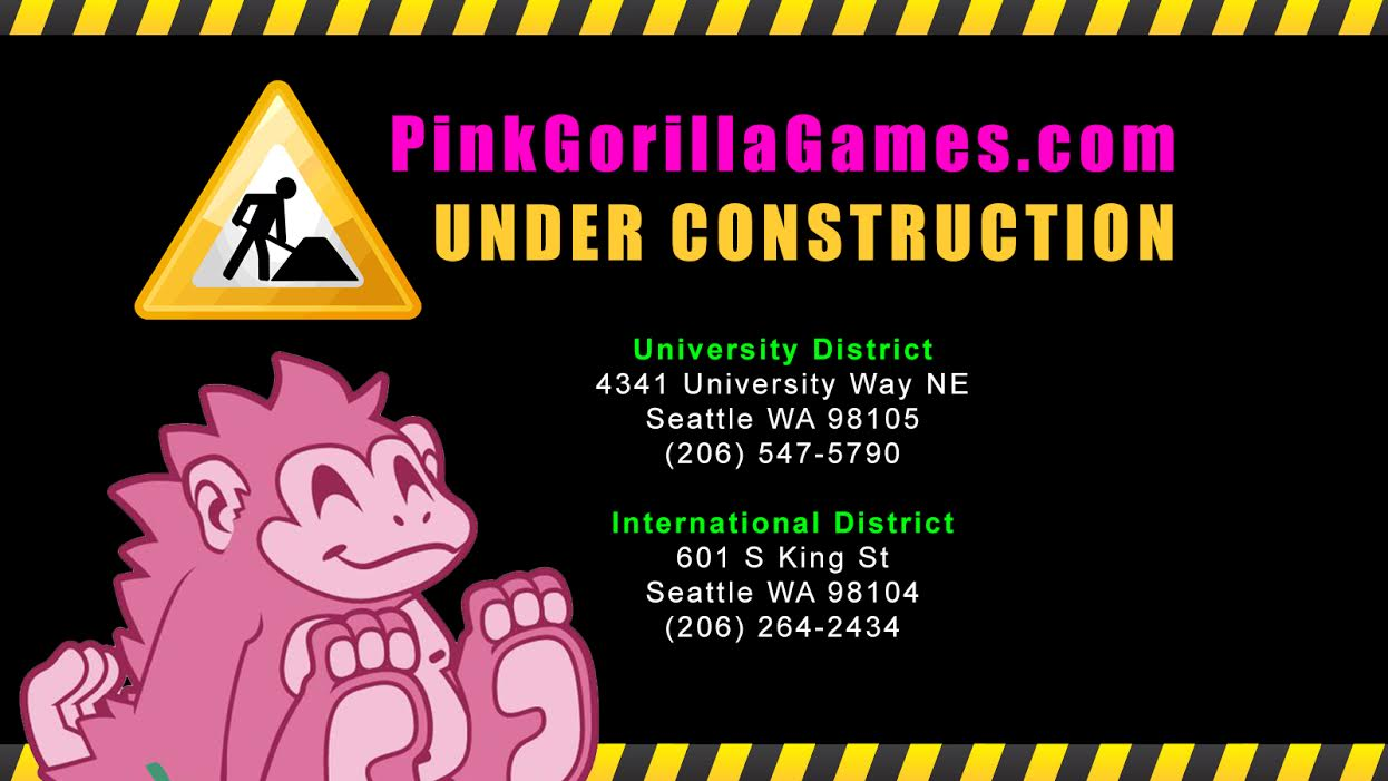 Pink Gorilla is under contruction until our inventory has been updated