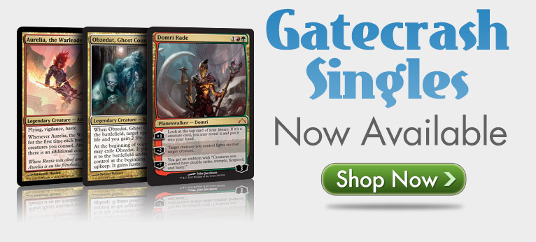 Gatecrash singles now available!