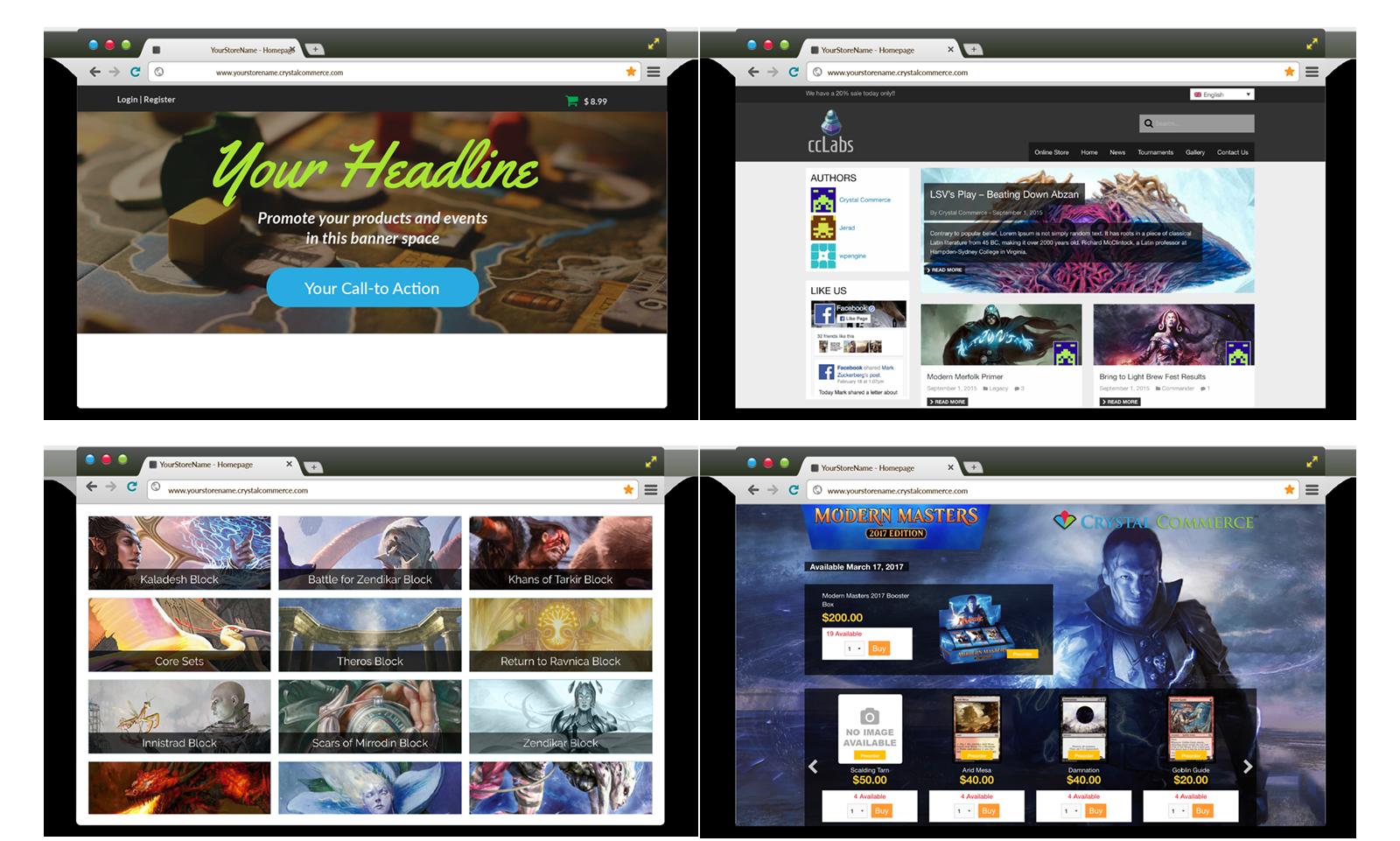 CrystalCommerce Launchpad